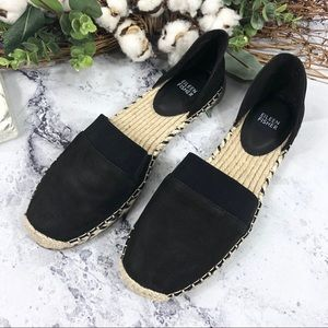 NEW Eileen Fisher Lady leather espadrilles Sz 11